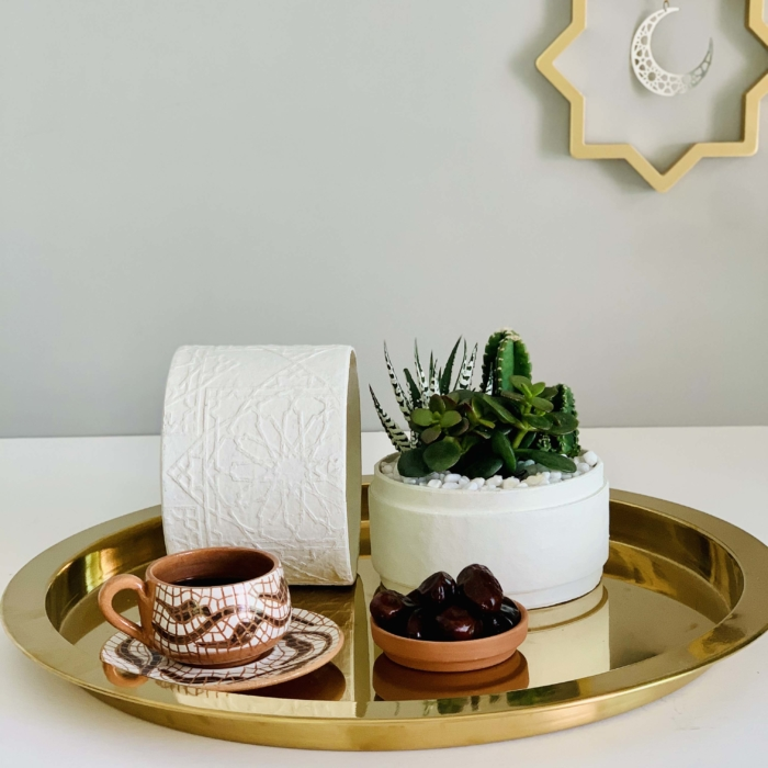 white succulent mix ramadan